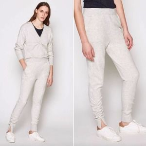 NWT Joie Jogger Pant Wayca Soft Ruched Gray XS